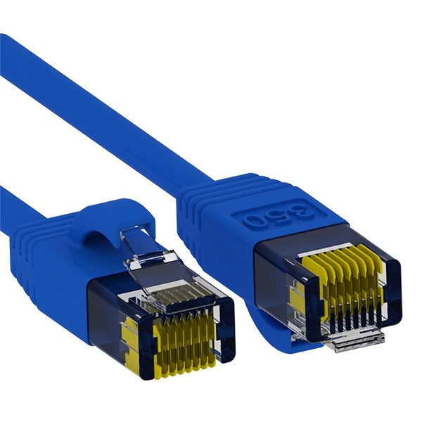 CAT 5e Patch Cable, 25', BLUE