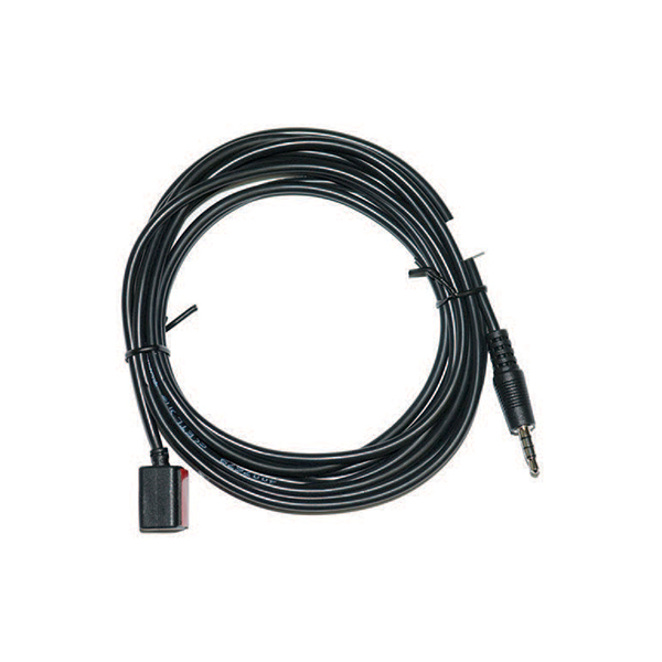 RJ12 to 3.5mm Infrared pass through cable, 6' (for room count receivers)