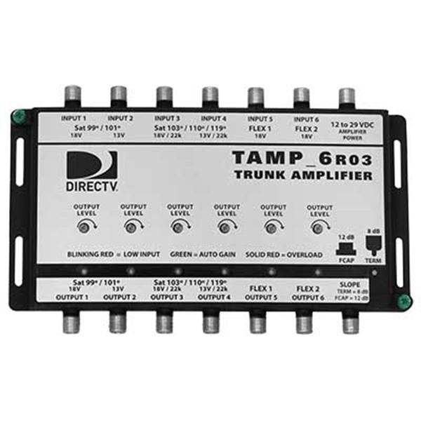Sonora 6 Coax Amplifier (requires PI29R1)